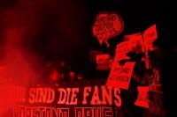 Montagsdemo der Fans des 1. FC Lok Leipzig
