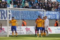 Ostklassiker 1. FC Lok Leipzig gegen 1. FC Magdeburg
