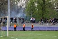 Unruhe nach dem Spiel bei RB Leipzig II