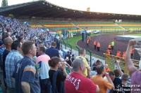 Fans und Ultras des 1. FC Magdeburg bei Hertha BSC II