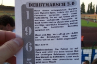 Derbymarsch 2.0, Infos zum Marsch der Magdeburger Fans beim Heimspiel gegen den 1. FC Union Berlin