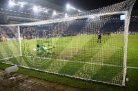 Elfmeterschießen gegen Bayer 04 Leverkusen