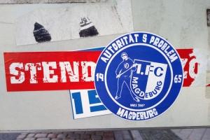 FCM-Aufkleber...