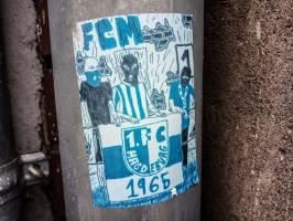 FCM-Aufkleber in Tangerhütte