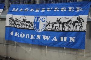 FCM Fahne Magdeburger Größenwahn