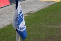 Eckfahne des 1. FC Magdeburg