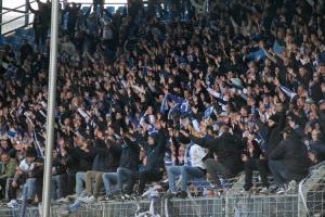 Magdeburg Fans im Ruhrstadion