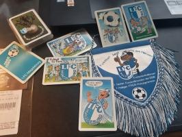 Magdeburger Kartenspiel und Wimpel
