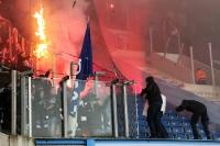 Tumulte im Magdeburger Block in Rostock