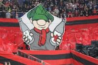 Choreo der Nürnberg Fans in Duisburg