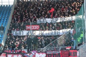 Nürnberg Fans gegen Ausgliederung