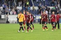 Nürnberger Mannschaft nach Pokalniederlage beim MSV