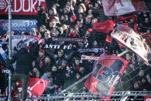 Schalparade Nürnberg Fans