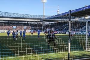 Spielszenen Nürnberg in Bochum 25-02-2018