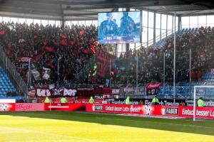 Support Nürnberg Fans in Bochum