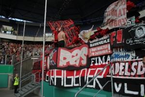 Ultras Nürnberg in Duisburg DFB Pokal