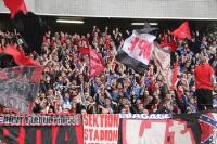 Ultras Nürnberg Support in Duisburg 2015