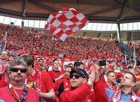 1. FC Union Berlin bei Hannover 96
