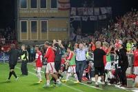 1. FC Union Berlin feiert Sieg gegen Fortuna Düsseldorf