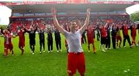 1. FC Union Berlin feiert Sieg gegen MSV Duisburg