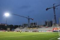 Baustelle Alte Försterei, Spiel gegen 1. FC Köln