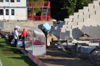 Baustelle: Die neue Sitzplatztribüne für den 1. FC Union Berlin