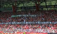 Botschaft der Union Fans an Rainer W.