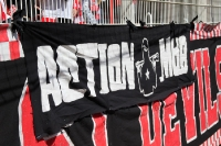 Der Action Mob des 1. FC Union Berlin