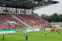 DFB-Pokal 2012: RWE gegen Union - Gästeblock