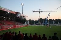 Die Baustelle im Blick: 1. FC Union Berlin gegen Hibernian Edinburgh