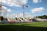 Die neue Tribüne des Stadions An der Alten Försterei