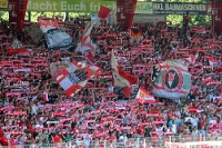 Fans des 1. FC Union Berlin, Auftaktspiel gegen Bochum