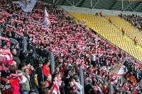 Fans des 1. FC Union Berlin bei Dynamo Dresden