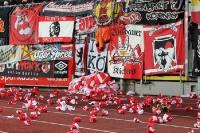 Fans des 1. FC Union Berlin in Braunschweig