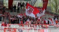 Fans des SV Jahn Regensburg bei Union Berlin