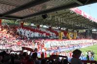 Choreographie beim Spiel 1. FC Union - FSV Frankfurt