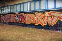 Graffiti des 1. FC Union Berlin