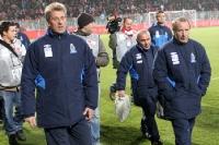 Berti Vogts & Uli Stein zu Gast beim 1. FC Union, Testspiel gegen Aserbaidschan am 15.11.2011