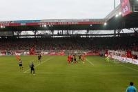 1. FC Union Berlin - Fortuna Düsseldorf 95, die heiß umkämpfte Partie ging 0:0 aus