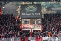 Alte Anzeigetafel im Stadion An der Alten Försterei