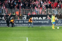 Emotionen beim Spiel gegen Eintracht Braunschweig