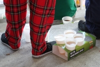 Keine Überraschung: Auch schottische  Fans mögen Bier