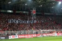 Klare Ansage der Union-Fans in Richtung DFB