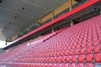 Neue Haupttribüne des Stadions An der Alten Försterei