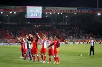 Pure Freude nach dem 2:1-Sieg gegen den 1. FC Köln