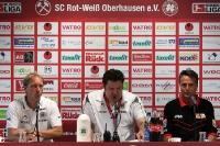 Pressekonferenz nach dem Spiel RWO - 1. FC Union Berlin