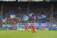 Spielszenen Union Berlin in Bochum 2016