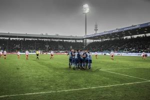 Spielszenen Union Berlin in Bochum 2017