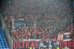 Support Ultras Union Berlin Fans in Bochum