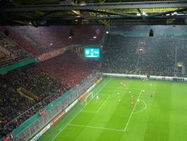 Support Union Berlin Fans in Dortmund DFB Pokal 2016